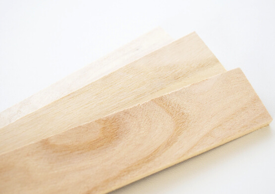 人の手によって木材として再生した「銘木